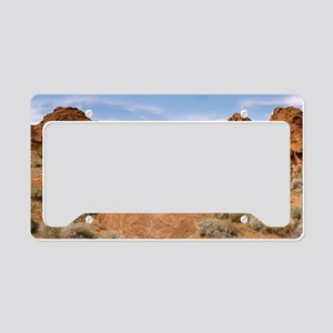 Valley of Fire, Nevada License Plate Holder