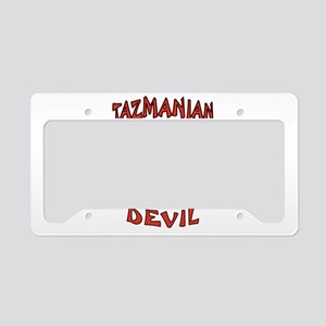 TAZMANIAN DEVIL License Plate Holder