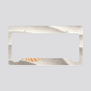 Caribbean Pearl License Plate Holder