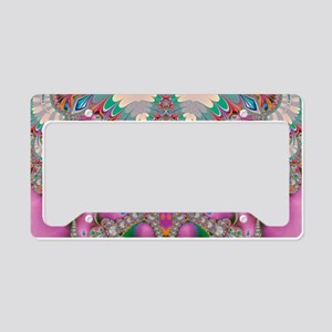 Spring Owl License Plate Holder