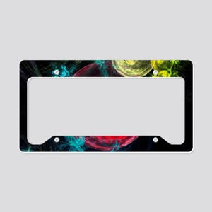galaxy_circles_pod License Plate Holder