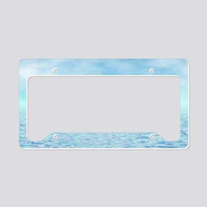 Sea of Serenity License Plate Holder
