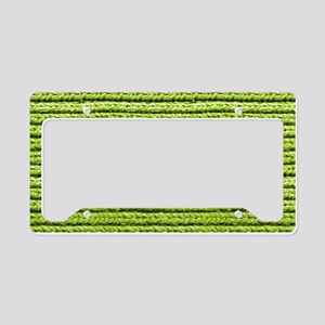 Bright Chartreuse Apple Green License Plate Holder