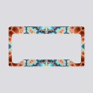 Electric Pattern License Plate Holder