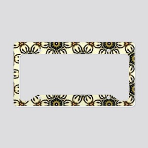 Furry Friend Animal Print License Plate Holder
