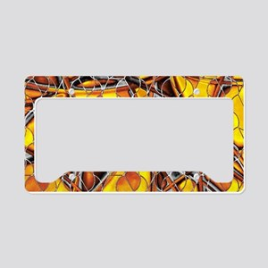 abstract net License Plate Holder