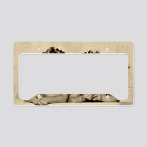 Bath Time License Plate Holder