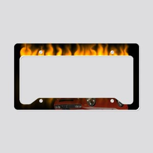 dodge chall License Plate Holder
