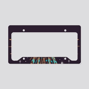 Dreamcatcher Moon License Plate Holder