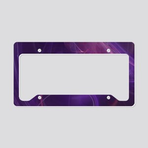 Misty Purple Realm License Plate Holder