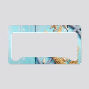Seashells License Plate Holder