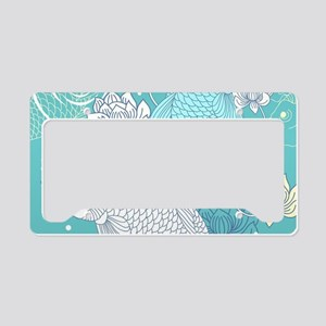 Koi Fish License Plate Holder
