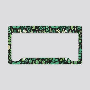 Forest Pattern License Plate Holder