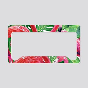 Flamingo License Plate Holder