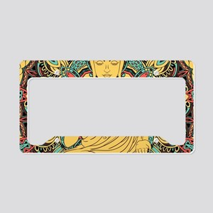 Buddha License Plate Holder