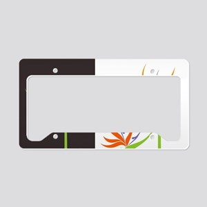 Bird of Paradise Flowers License Plate Holder