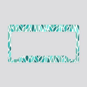Mosaic Pattern License Plate Holder