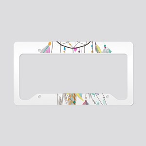 Dreamcatcher Feathers License Plate Holder
