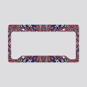 Armenian Carpet License Plate Holder