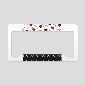 Little Ladybugs License Plate Holder
