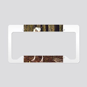 Griffin In The Forest License Plate Holder