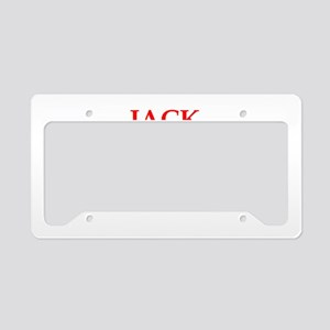 jack of all trades License Plate Holder
