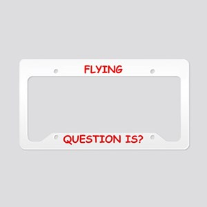flying License Plate Holder
