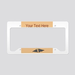 Customizable Vacation Guy License Plate Holder