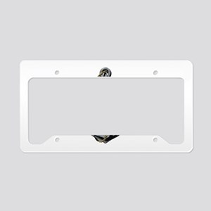 Captain and Anchor License Plate Holder
