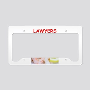 lawyer License Plate Holder