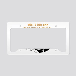 card player License Plate Holder