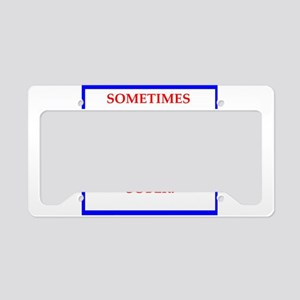 golfer License Plate Holder