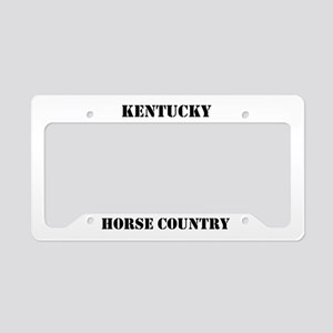 Horse Country License Plate Holder