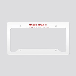 what was License Plate Holder