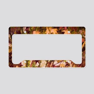 Gentle Fall License Plate Holder