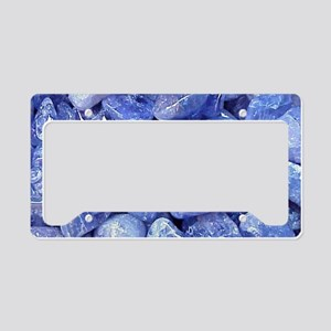 tribal bohemian turquoise gem License Plate Holder