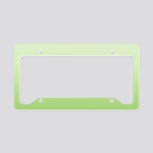 ombre License Plate Holder