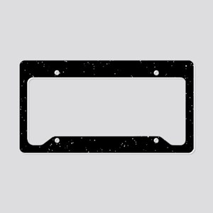 Space: Starfield License Plate Holder