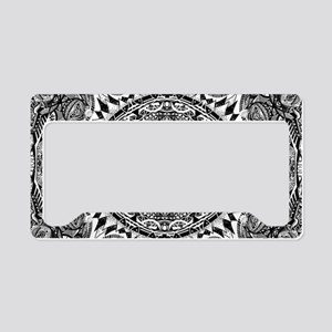 Mandala License Plate Holder