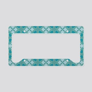 Muted Medallion License Plate Holder
