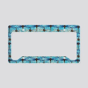Dragonfly Obsession License Plate Holder