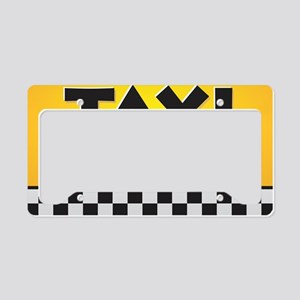 TAXI - Need a Ride? License Plate Holder