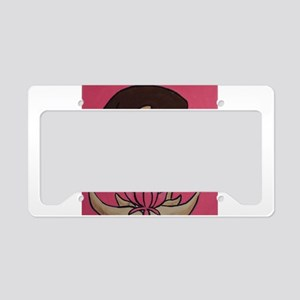 Lotus Blossom License Plate Holder
