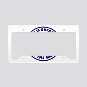 B&O Railroad Logo License Plate Holder
