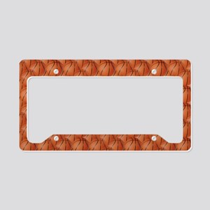 Basketballs License Plate Holder