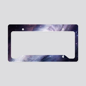 Milky Way License Plate Holder
