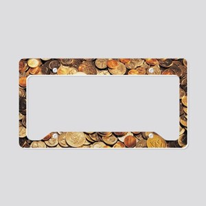 U.S. Coins License Plate Holder
