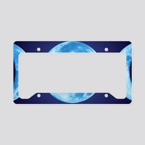 threePhaseMoon3SMP License Plate Holder