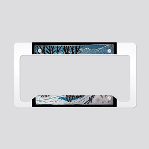 Firewood Ride License Plate Holder