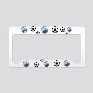 Argentina world cup soccer balls License Plate Hol
